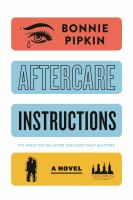 Cover image for Aftercare instructions