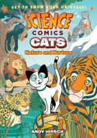 Cover image for Cats [graphic novel] : nature and nurture : Science comics series