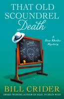 Cover image for That old scoundrel death. bk. 25 : Sheriff Dan Rhodes mystery series