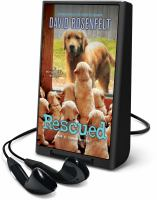 Cover image for Rescued. bk. 17 [Playaway] : Andy Carpenter series