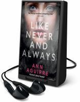 Imagen de portada para Like never and always [Playaway]