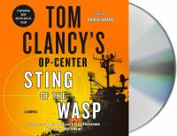 Cover image for Sting of the wasp. bk. 18 [sound recording CD] : Tom Clancy's Op-Center series