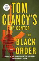 Imagen de portada para The Black order. bk. 20 : Tom Clancy's Op-center series