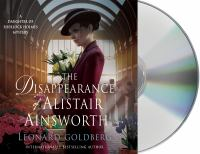 Cover image for The disappearance of Alastair Ainsworth. bk. 3 [sound recording CD] : Daughter of Sherlock Holmes series