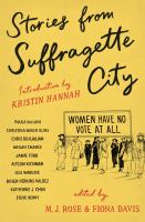 Cover image for Stories from suffragette city
