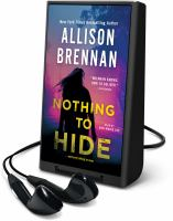 Cover image for Nothing to hide [Playaway]