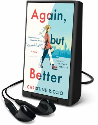 Cover image for Again, but better [Playaway] : a novel