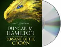 Cover image for Servant of the crown. bk. 3 [sound recording CD] : Dragonslayer series