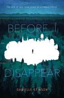 Cover image for Before I disappear