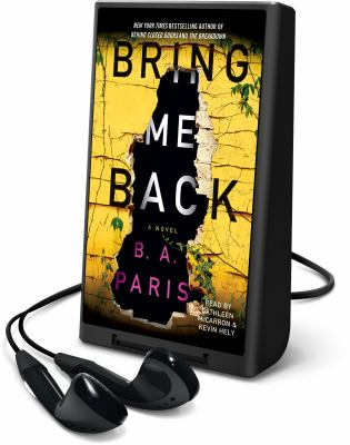 Cover image for Bring me back [Playaway]