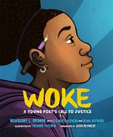 Imagen de portada para Woke : a young poet's call to justice