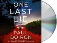 Cover image for One last lie. bk. 11 [sound recording CD] : Mike Bowditch series