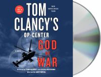 Cover image for Tom Clancy's Op-Center: God of War - Estimated street date August 4, 2020 A Novel