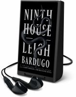 Cover image for Ninth house [Playaway]