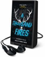 Cover image for A thousand fires [Playaway]