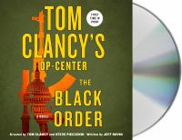 Cover image for The black order. bk. 3 [sound recording CD] : Sigma Force series