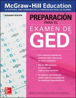 Imagen de portada para McGraw Hill Education preparación para el examen de GED