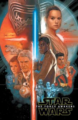Cover image for Star Wars [graphic novel] : The Force awakens
