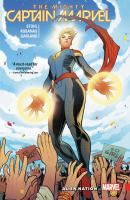 Cover image for The mighty Captain Marvel. Vol. 1 [graphic novel] : Alien nation