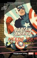 Cover image for Captain America [graphic novel] : promised land