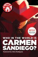 Imagen de portada para Who in the world is Carmen Sandiego?