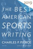 Cover image for The best American sports writing. 2019