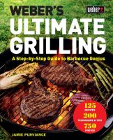 Cover image for Weber's ultimate grilling : a step-by-step guide to barbecue genius