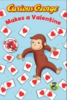 Cover image for Curious George makes a valentine