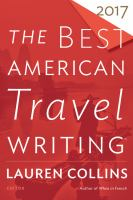 Cover image for The best American travel writing 2017