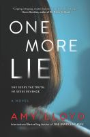 Cover image for One more lie