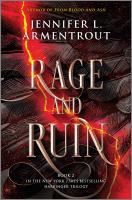 Cover image for Rage and ruin. bk. 2 : Harbinger series