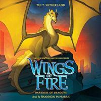 Imagen de portada para Darkness of dragons. bk. 10 [sound recording CD] : Wings of fire series