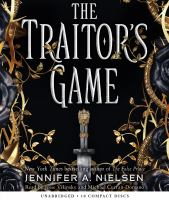 Cover image for The traitor's game. bk. 1 [sound recording CD] : Traitor's game series