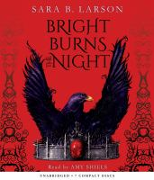 Cover image for Bright burns the night. bk. 2 [sound recording CD] : Dark breaks the dawn series