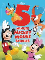 Cover image for 5 minute Mickey Mouse stories