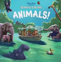 Cover image for Jungle cruise [board book] : animals!