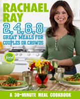 Cover image for 2,4,6,8 : great meals for couples or crowds