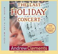 Cover image for The last holiday concert