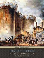 Cover image for A tale of two cities (Read by Simon Vance )