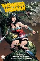 Imagen de portada para Wonder Woman. Vol. 9 [graphic novel] : resurrection