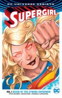 Cover image for Supergirl. Vol. 1 [graphic novel] : Reign of the cyborg supermen