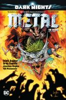 Cover image for Dark nights : metal [graphic novel] : the deluxe edition