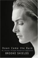 Cover image for Down came the rain : My journey through postpartum depression