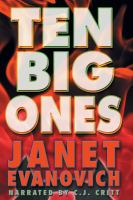 Cover image for Ten big ones. bk. 10 Stephanie Plum series