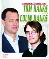 Cover image for Tom Hanks and Colin Hanks : Famous families series