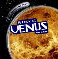 Cover image for A look at Venus