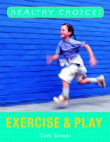 Cover image for Exercise and play