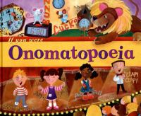 Cover image for If you were onomatopoeia