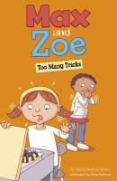 Cover image for Max and Zoe : too many tricks