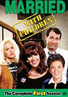 Cover image for Married with children. Season 1, Complete